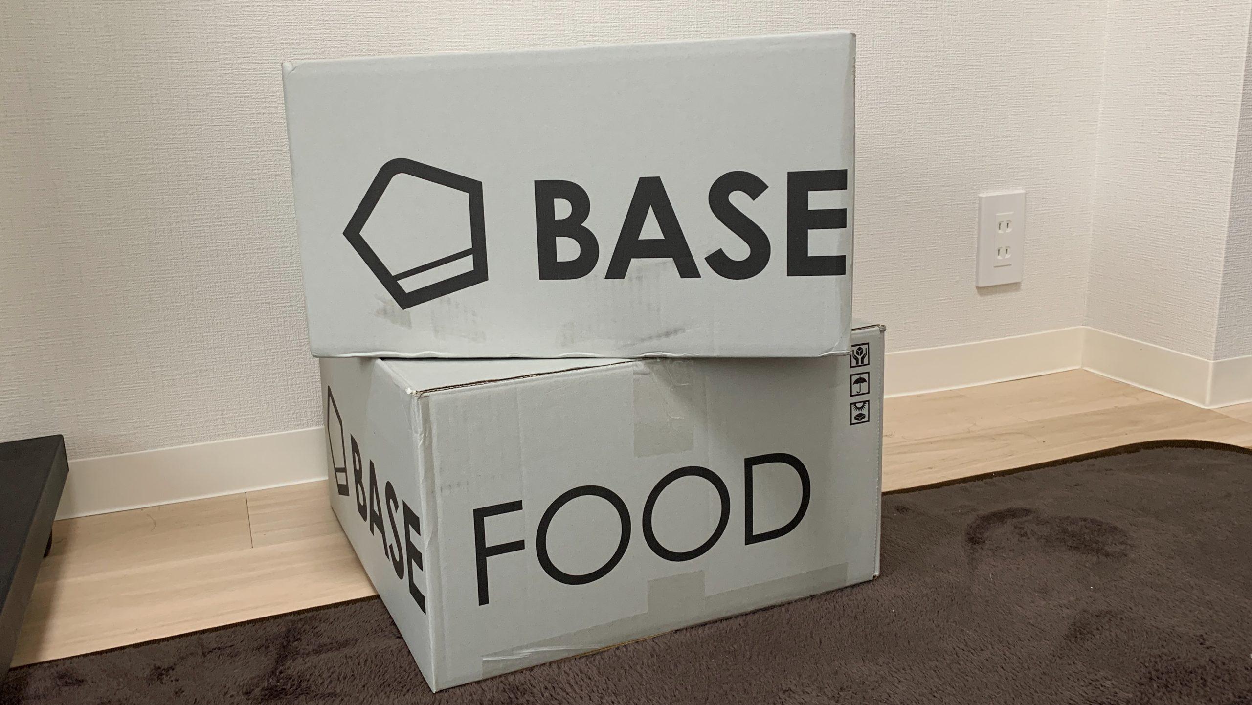 BASE FOOD段ボール